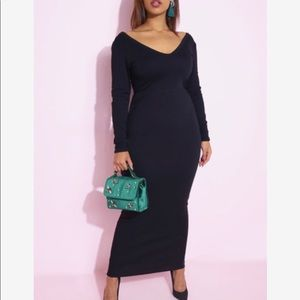 Black Maxi Dress!